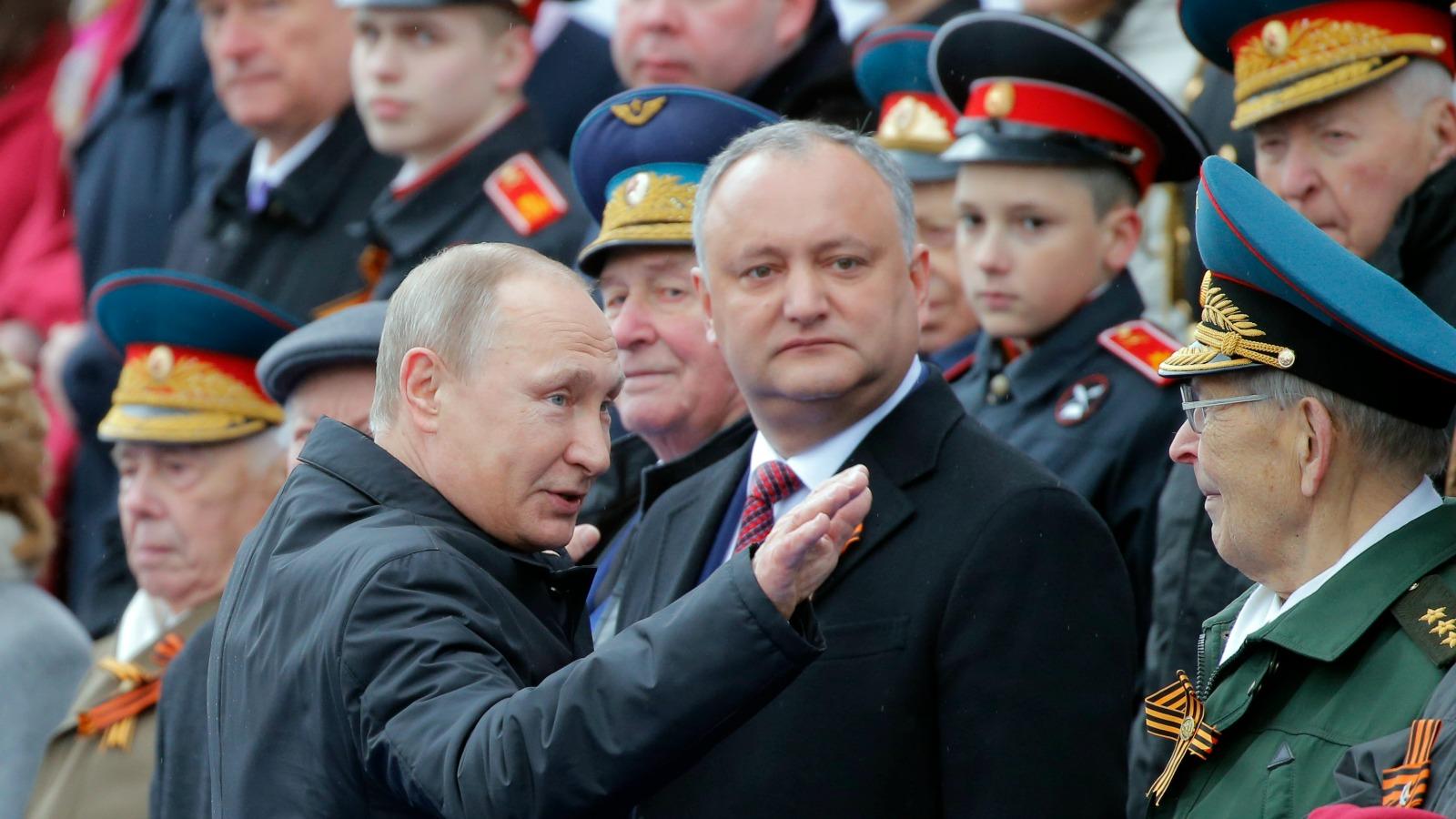 igor dodon, vladimir putin, moldova rusia, tranistria