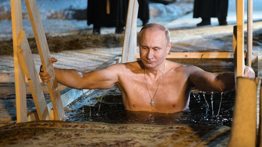 putin boboteaza rusia
