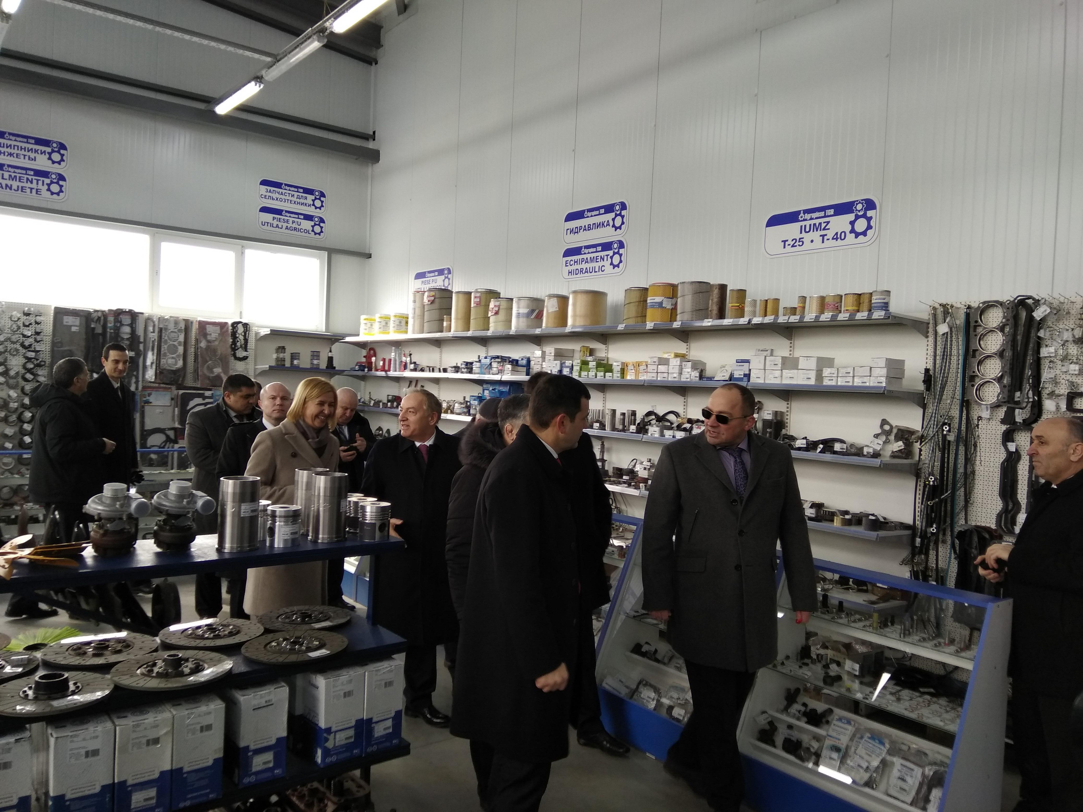 vizita gaburici la comrat, tehnologii in agricultura, agricultura moldoveneasca, chiril gaburici minister