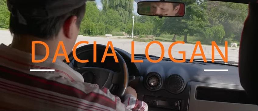 Dacia Logan - culoarea bostan, O parodie dedicată taximetriștilor, marca Pidos TV, iluminat