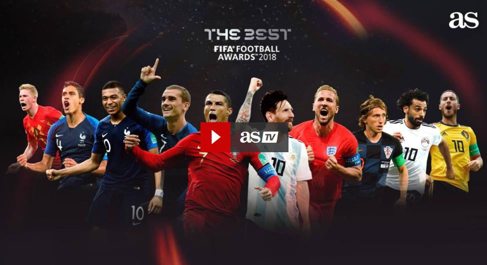 Lista celor 10 candidați, Cel mai bun fotbalist din lume 2018, uefa, fifa, cristiano ronaldo, real madrid