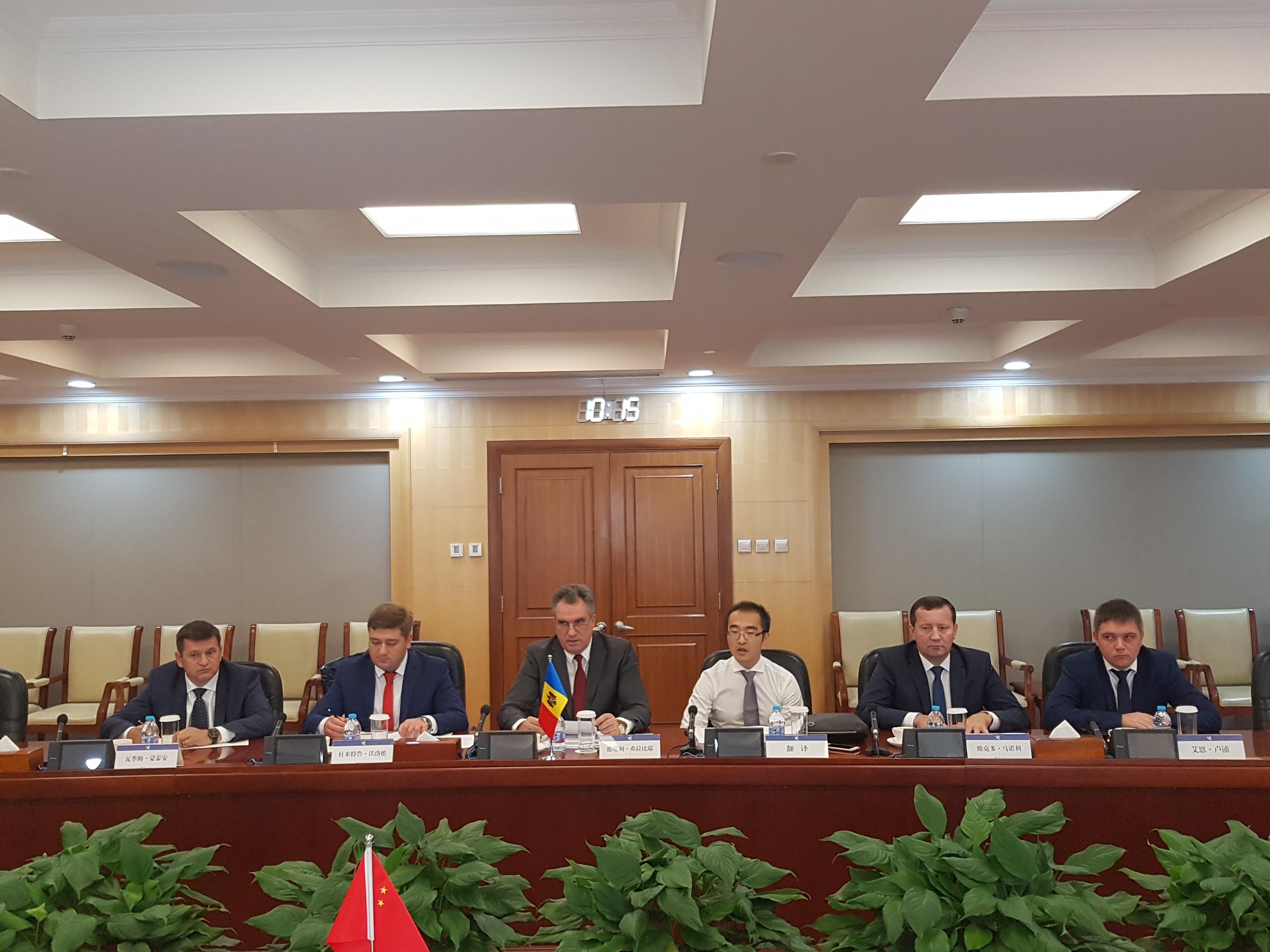 Vitalie Vrabie s-a întâlnit, la Beijing, cu conducerea Vămii din China, vama moldova, securitatea la frontiera, guvernul filip, pdm