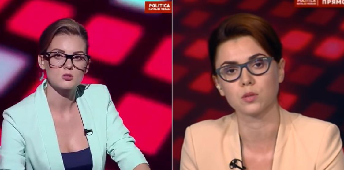 Prezentatoarea TV8, Natalia Morari, dezgolită frumos, Parodia a devenit virală pe Facebook, presa republica moldova, mass media chisinau, jurnalistii independenti, propaganda, manipularea, dezinformare, opinia publica