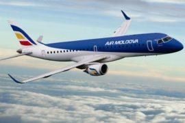 Air Moldova, Avion, Nori, cer, zburând